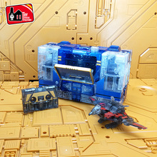 цены 22cm KBB Deformation G1 Transformation THF 01J/B Sound Wave Tape Walkman MP13 Oversize Alloy Action Figure Robot Collection Toys