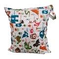 Lavável reutilizáveis de pano fralda saco molhado impermeável natação bolsa de viagem / tamanho grande : 36 X 28 cm saco de fraldas do bebê de fraldas saco