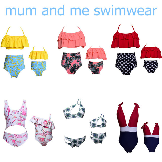 Mother And Daughter Swimwear