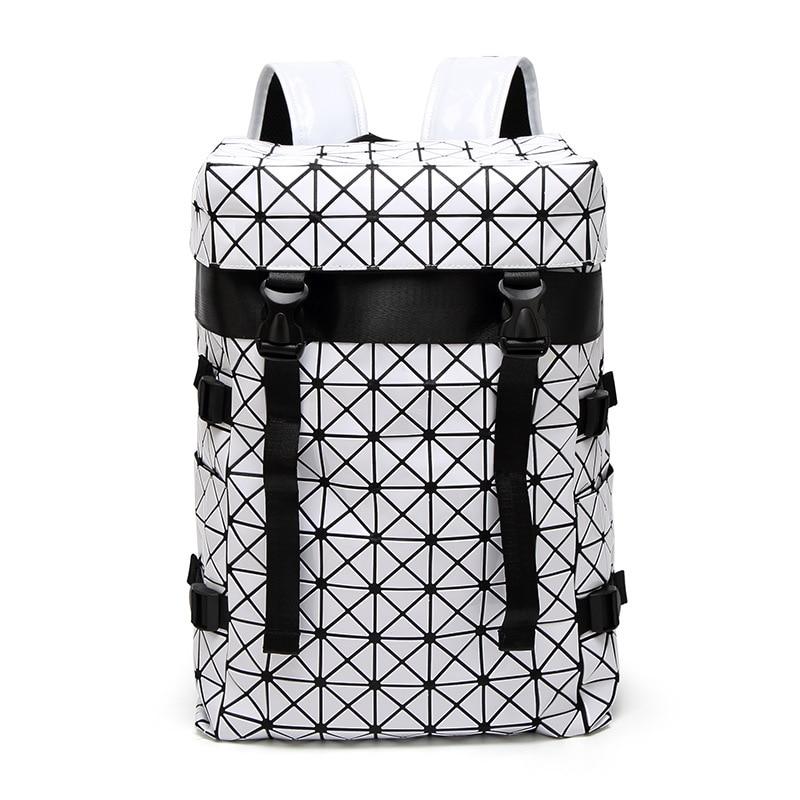 Women Bao Bao Backpack For Girls Geometric Shoulder Bag Men School Bag Rucksack Hologram Luminous Laptop Backpack Baobao Bagpack паяльник bao workers in taiwan pd 372 25mm