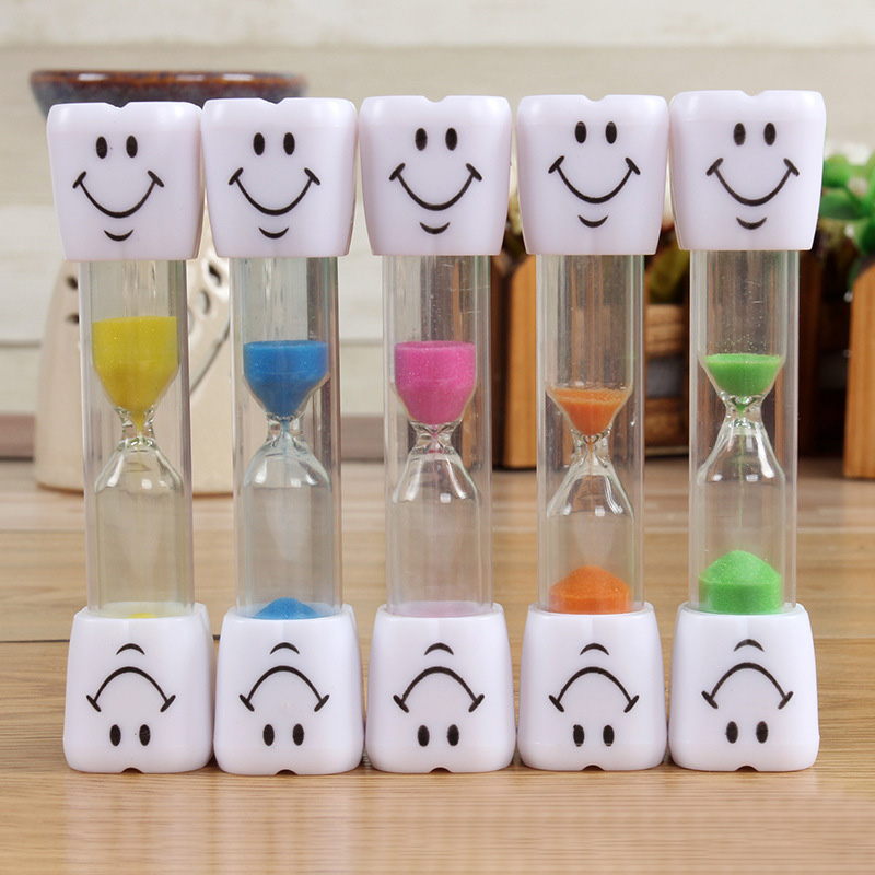 Arts & Crafts, Diy Toys Punctual Childrens Kids Toothbrush Hourglass Sandglass Glass Smile Face Sand Egg Timer Yh-17