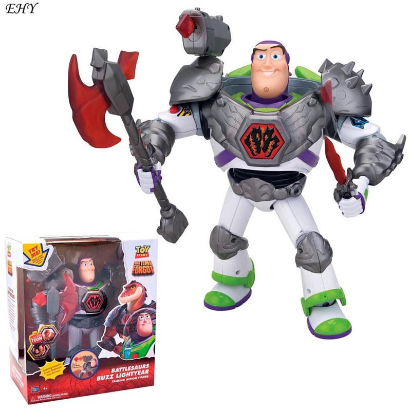 Toy Story 3 Battlesaurs Buzz Lightyear Talking PVC Action