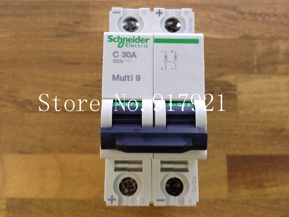 [ZOB] MuIti 9 original C60H-DC C30A 2P30A DC circuit breaker MGN61534 --5pcs/lot dhl eub 5pcs new original for schneider c65n dc 1p c40a breaker 15 18