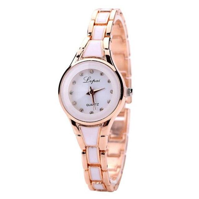Золото с бриллиантами часы женщины браслет montre серебряные женские часы  со стразами новый бренд платье Люкс 26bcabae53b