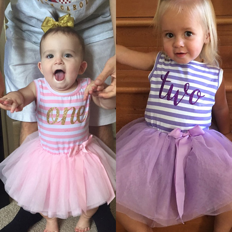 Birthday Outfit For Mom: Children's Clothing Girl Clothes Fancy Tutu Dress For Baby