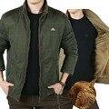 Autumn Winter Fashion Bomber Jacket Men Warm Coats Brand Clothing Thick Casual Jacket Cargidan Plus Size M-3XL