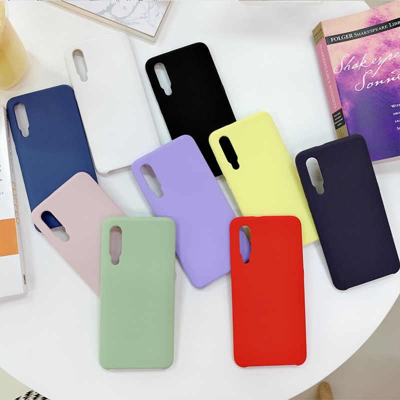 Ốp Lưng chính hãng Cho Redmi 6A Redmi 6 Pro Redmi Note 5 Pro Note 5A S2 A2 Lite Liquid Silicone TPU vỏ Bao Da Chính Thức Ốp Lưng