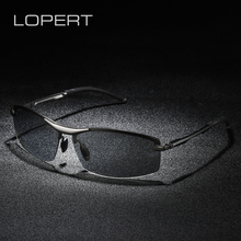 LOPERT All Weather Photochromic Polarized Sunglasses Men Women Brand Designer Driving Fishing Sun Glasses Unisex UV400