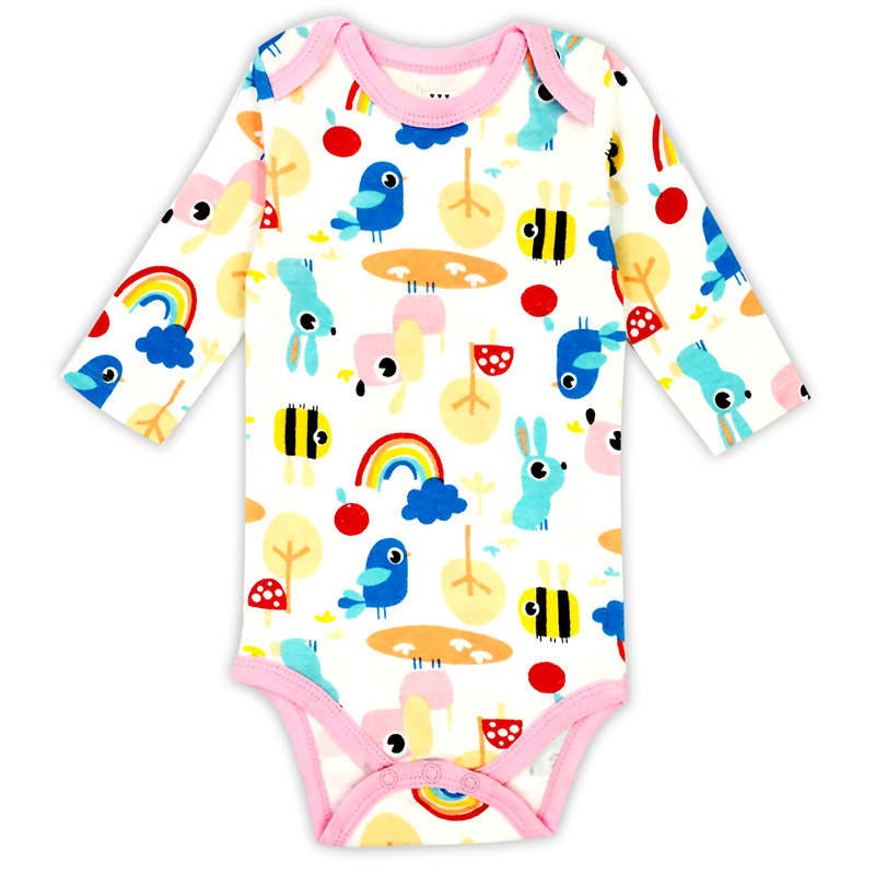 Newborn baby Clothes 100% Cotton Baby Long Sleeve Rompers Spring Autumn Jumpsuit Kids Baby BoyOutfits Clothes Set