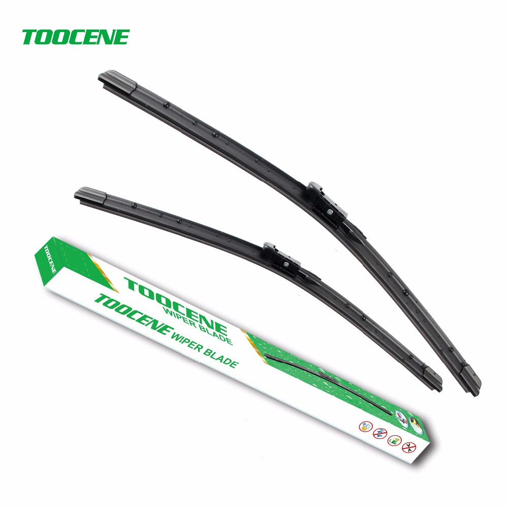 Toocene wiper blades for ford explorer 2011 2015 26 22 fit pinch tab type wiper arms only hy 017