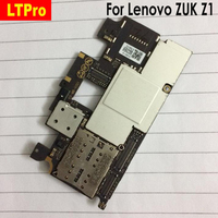 LTPro Original mainboard Tested For Lenovo ZUK Z1 with 3GB 64GB motherboard board card fee Circuits Cable phone parts
