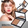 Professional 2 Color Moisturizing Nude Makeup Concealer Foundation Powder Palette MakeUp Cosmetic Face Contour Grooming