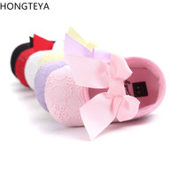 Hongteya Brand Cute Princess Infant Girl Shoes Wit ...