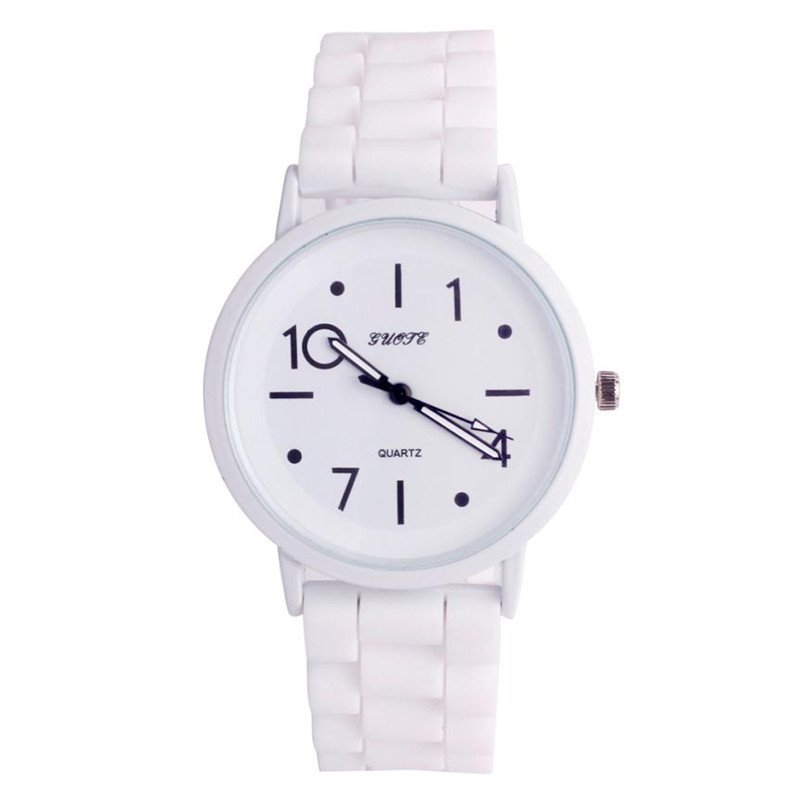 2018 High Quality Ladies Watch Women Curren Women Watches Silicone Rubber  Jelly Gel Quartz Casual Sports Wrist Watch Newest 40p fbad3fc7e0ee5