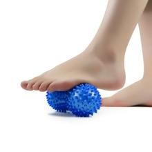 Практичный дизайн шиповатый арахисовый Массажный мяч для боли в теле рельефная мышца боль Стресс арахисовый мяч терапия товары для здоровья