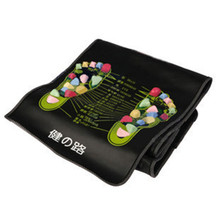 1Pc Foot Massage Mat Fitness Stone Health monitors Reflexology Walk Stone Foot Pain Relieve Massager Health Feet Care 170*35cm