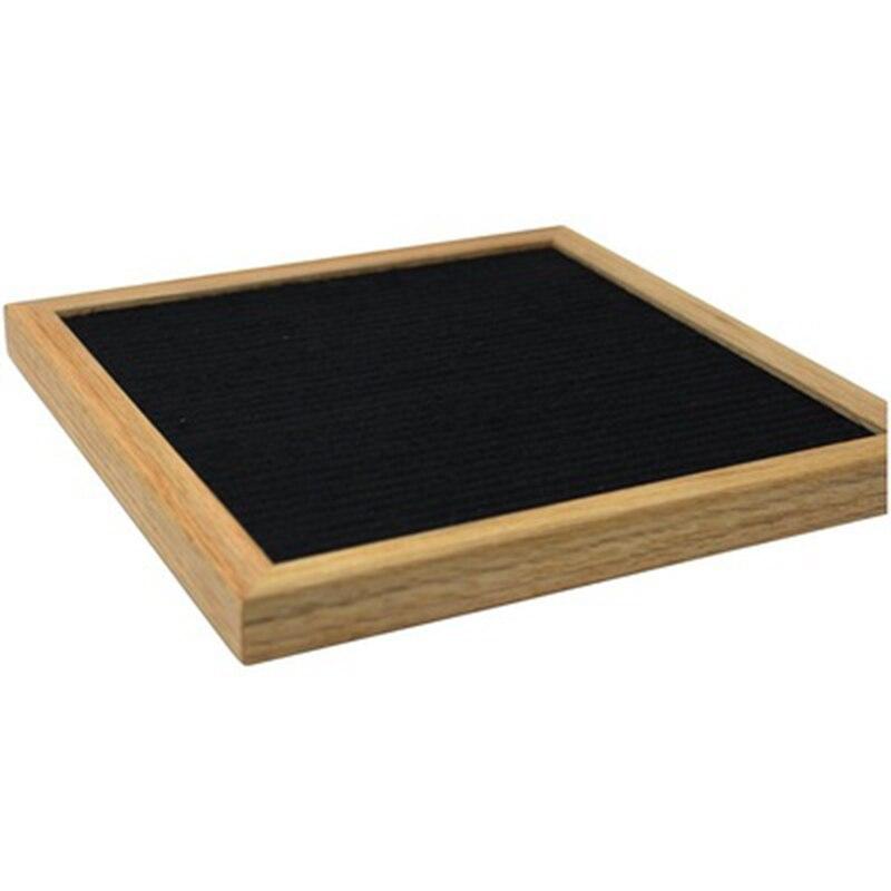 1PCS wooden felt letter wood blackboard toys 10*10 inch felt cloth blackboard wooden message board wooden children's toys