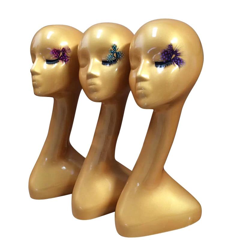 Visoka kvaliteta Hot Prodaja Sažetak Ženski Mannequin glava za - Njega kose i styling - Foto 1