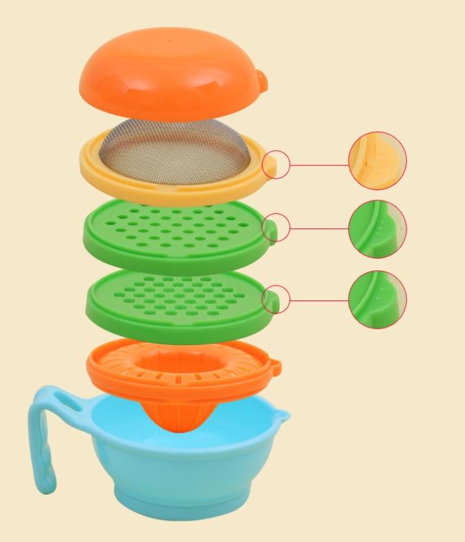 Mutter & Kinder Dhl 100 Set 9 Teile/satz Fleischwolf Babynahrung Zu Ergänzen Schleifen Set Baby Obst Und Gemüse Schleifen Schüssel Babynahung Und Mühlen