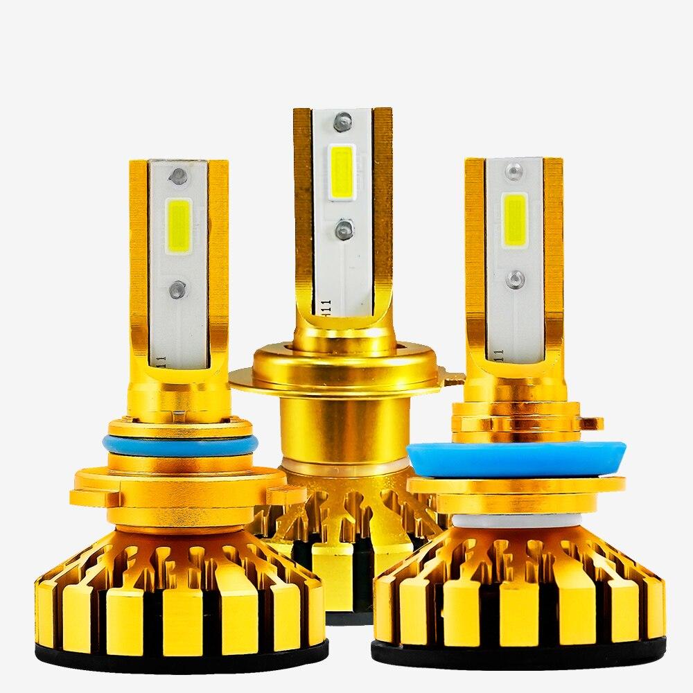F6 LED Car Headlight Bulbs H4 LED H1 H7 H3 H11 HB2 HB3 HB4 9003 9005 9006 9012 Fog Light 6000K 50W 10000LM Auto Lamp