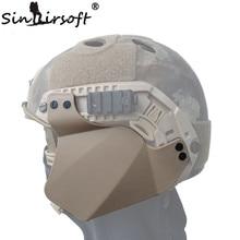 Airsoft Sports Up-Armor Side Cover for Fast Helmet Rail, Helmet Accessories Ear Protection, Helmet Ear-Bezel Black/DE/FG