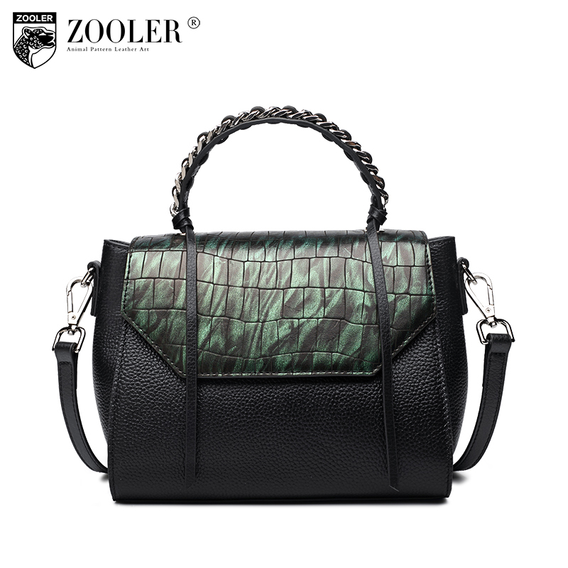 ZOOLER Guarantee 100% Genuine Leather Women Handbag Lady Fashion Small Tote Bags Female Crossbody Shoulder Bag Sac A Main Femme zooler fashion genuine leather crossbody bags handbags women famous brands female messenger bags lady small tote bag sac a main