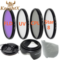KnightX UV FLD CPL lens nd Filter Set For Nikon Sony Canon DSLR d5200 d5300 d3300 d3200 T5i T4i T3i T5 49mm 52mm 58mm 67mm 55mm