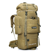 85L Professional Climbing Backpack Outdoor Sport Hiking Camping Backpack Travel Mountaineering Bags Men's Tactical Backpack 130