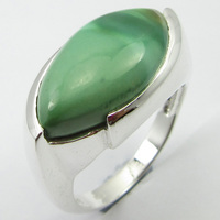 Stamp Silver Turquoises Ring Sz 8 Face Width 12 mm Stone Jewelry Unique Designed