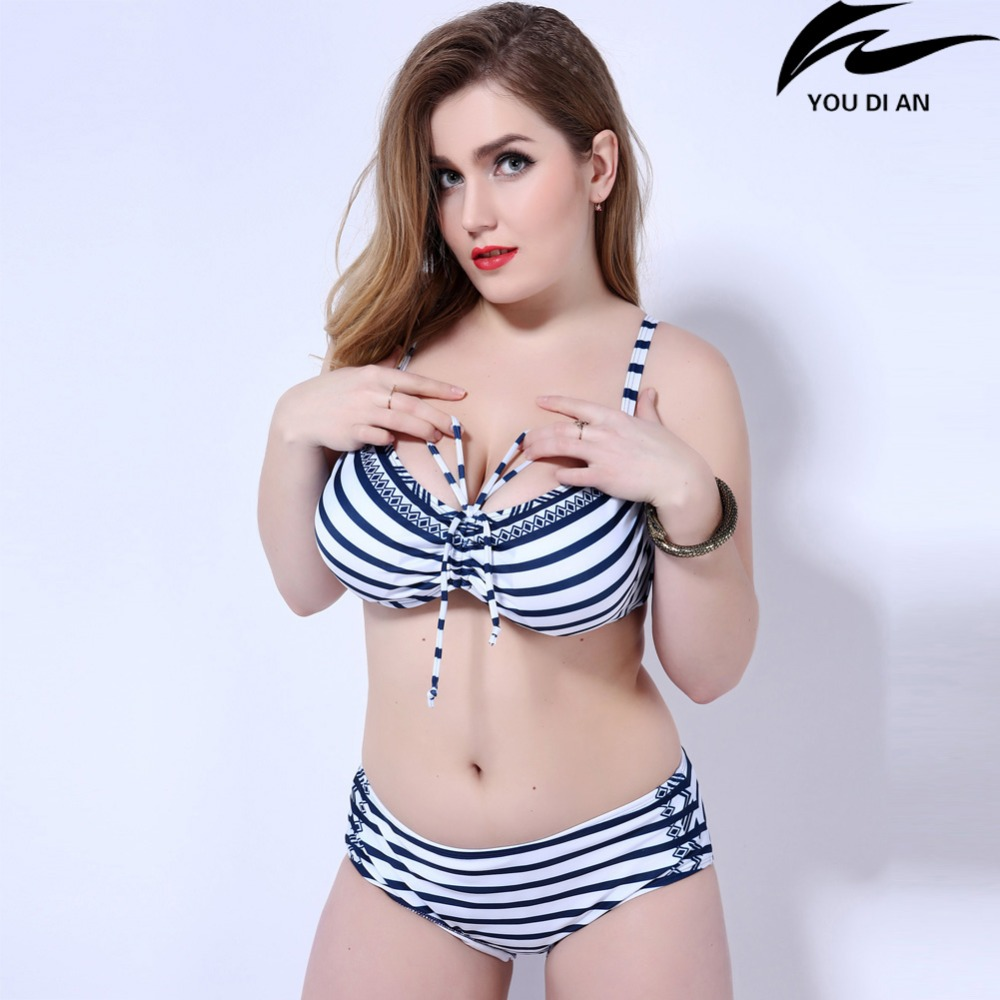 2017 bikini plus size women mid waist underwire swimsuit big size sexy women Russian Europe push up swimwear beachwear high quality plus size sexy high waist blackless solid women black bikini swimwear underwire big women swimsuit