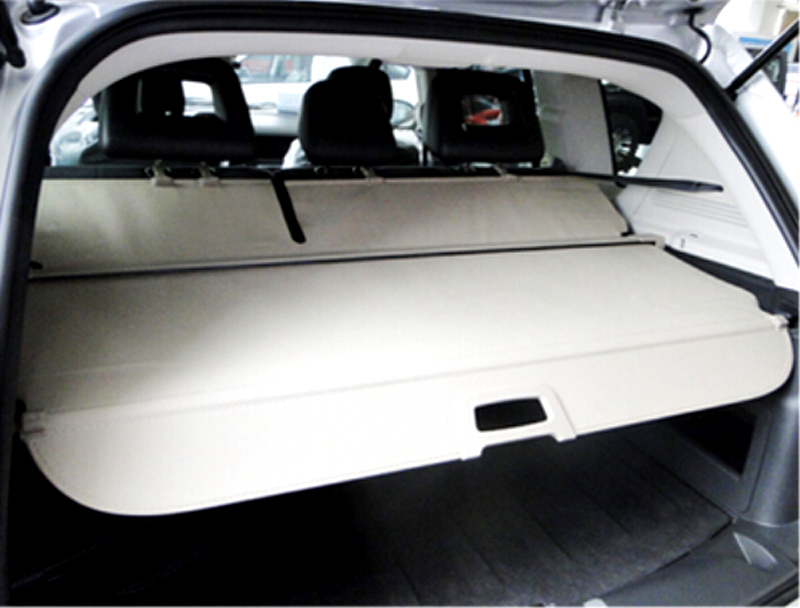 2011 2015 For Jeep Compass Tail Trunk Security Shield Cargo Cover Shade Beige car styling accessories