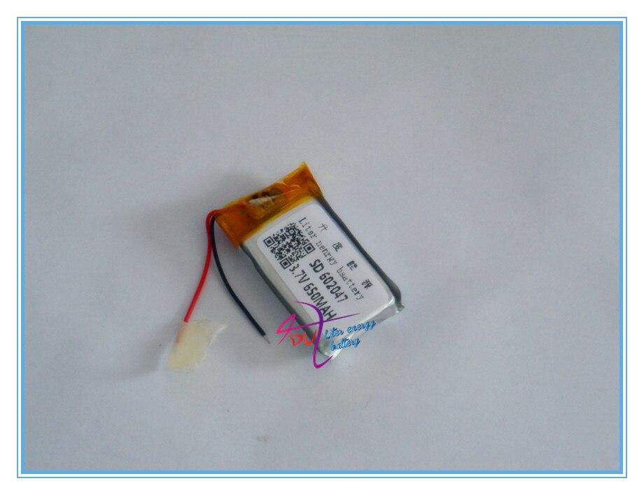 Digital Batterien Neue Mode 3,7 V Lithium-polymer-batterie 602047 602045 Mp3 Mp4 Bluetooth Punkt Lesen Stift 600 Mah Unterhaltungselektronik
