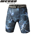 High quality 3D Digital printing Casual Men Shorts Coolmax Quick Dry Elastic Men's Shorts Compression Shorts