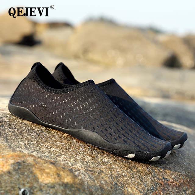 ce8be6b5f162 US $16.69 35% OFF|2018 Water Sport Sneakers Men Women Sea Barefoot Shoes  Aqua Ultraportable Footwear Beach Pool Wet Shoes Best Water Shoes  Outdoor-in ...