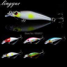 Time-limited hot sale 1 pcs plastic isca artificial hard Minnow lures fishing equipment Red pike bait  3d eyes wobblers lure