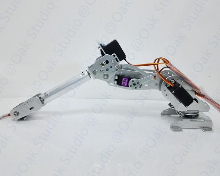 7 DOF Robot Arm A3 full metal high torque servo robot parts for DIY industrial robot