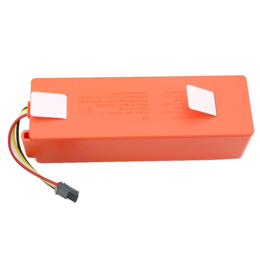 Nouveau 5200 mAh li-ion 18650 pour mi robot aspirateur batterie de remplacement pour xiaomi mi robot robotique nettoyeur roborock S50 S51