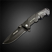 PEGASI Cold Steel Folding Blade Knife 7Cr17Mov Steel Camping Survival Knife Self Defense Portable EDC Knives