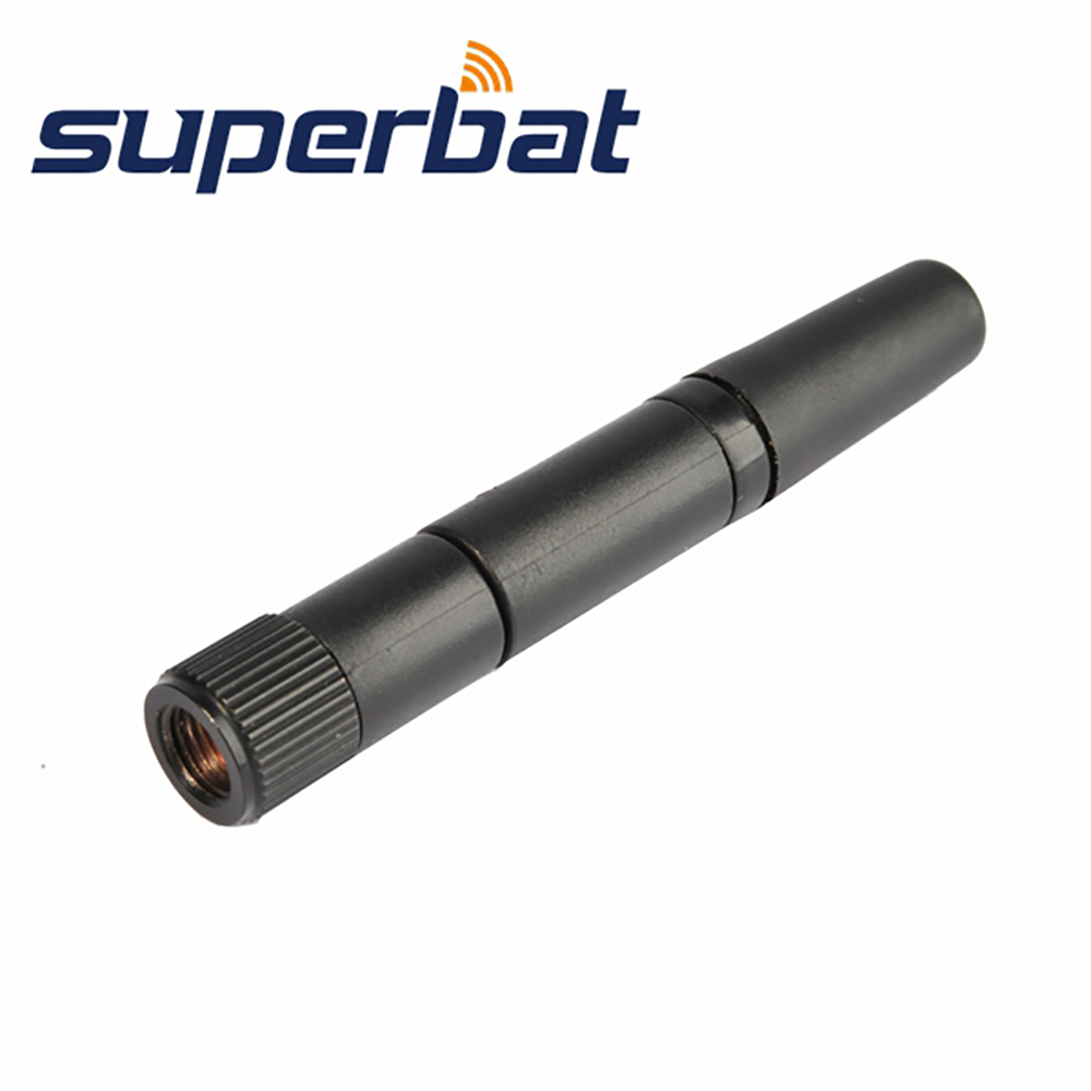 Superbat WIFI Inner Antenna 2.4GHz 2.15dBi RP-SMA Tilt-Swivel Rubber Antenne för trådlös D-Link Booster Router Tablet Android