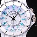 OHSEN À Prova D' Água de Quartzo Branco Relógio De Pulso de Cor Luz LED Sports Unisex OH02