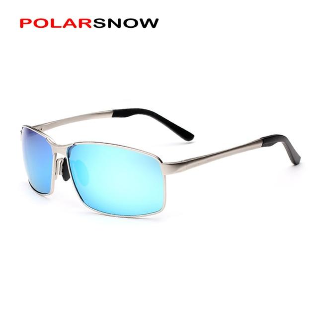 POLARSNOW Brand Polarized Sunglasses Men 2017 Designer High Quality Sun Glasses Vintage Driving Eyewear Oculos De Sol Masculino