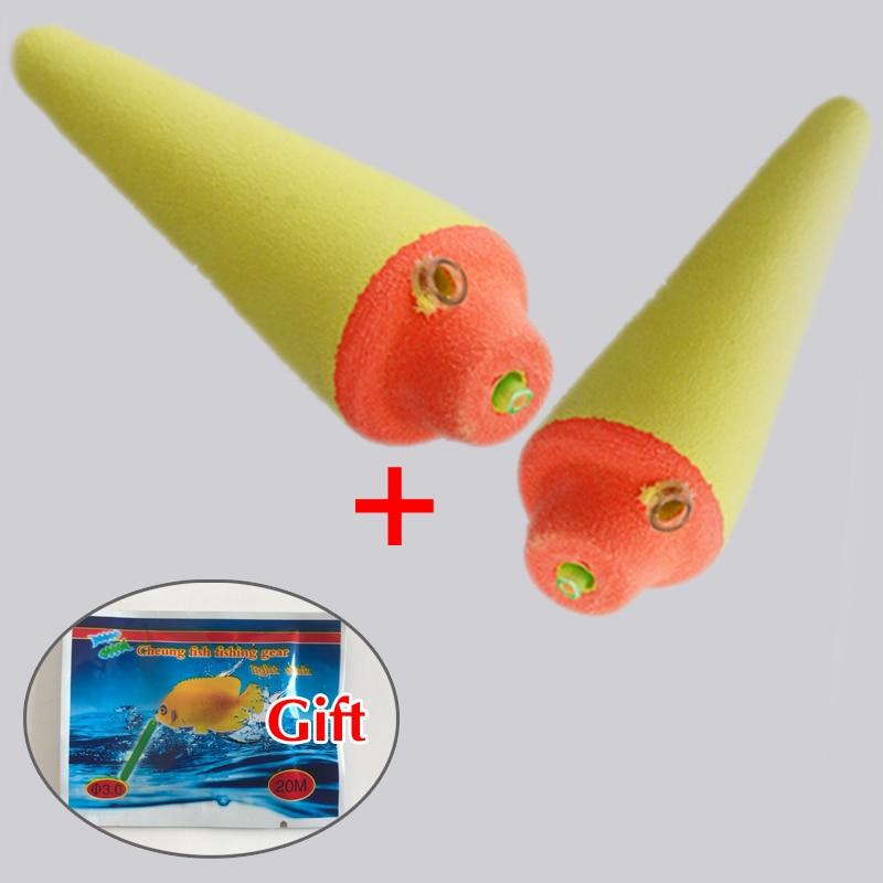 5PCS Pure EVA Svjetlosni Float Riba mamac detektor Za visoke - Ribarstvo - Foto 3