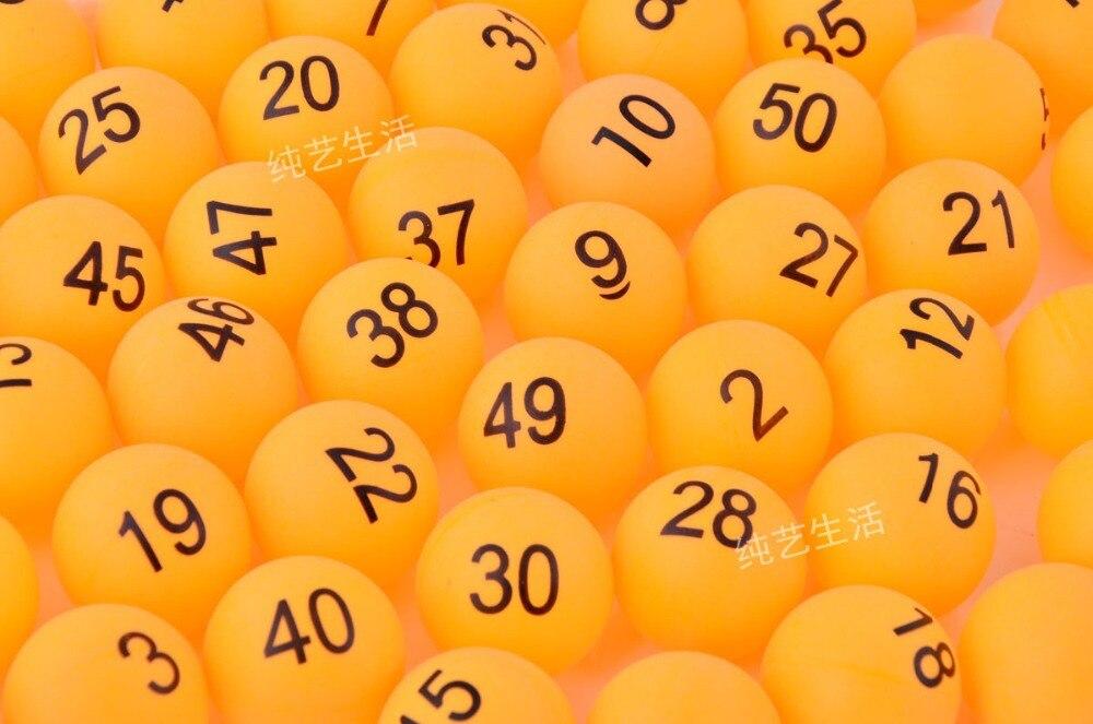 Güzellik ve Sağlık'ten Masaj ve Rahatlama'de Dijital oyun topu numarası 1 200 sarı tenis topu piyango promosyon eğlence etkinlikleri ping pong topu'da  Grup 1