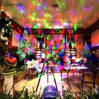 bowarepro DC 12V Light LED Projector Flame Light Light Wedding Party Waterproof Spotlight Christmas Festival Colour Moving Laser