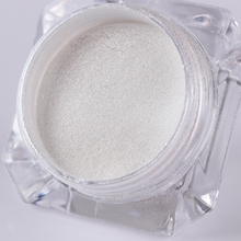 BORN PRETTY 1 Box Diamond Pearl Mermaid Powder 1.5g Shining White Nail Art Glitter Powder Dust DIY Nail Decoration Pigment