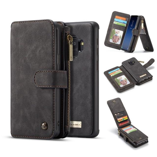 Odvojiva futrola sa magnetskim novčanikom Folio za S9 S9 Plus - Oprema i rezervni dijelovi za mobitele
