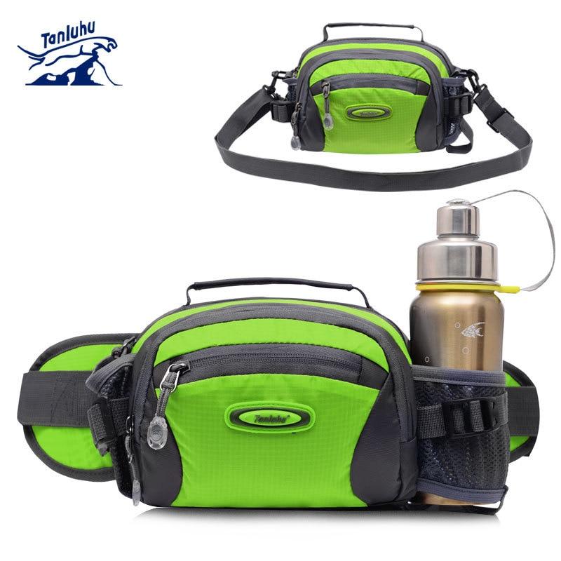 TANLUHU Water-resistant Outdoor Climbing Sports Bag Men Women Hiking Cycling Running Shoulder Cross Bottle Holder Waist Bag