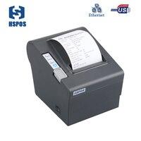 De alta Velocidad de Ethernet Factura Térmica Pos Impresora de Recibos Con el Cortador Auto Ayuda Interfaz Lan 80 Descargar impressora