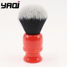 Yaqi 28mm escovas de barbear cabelo sintético