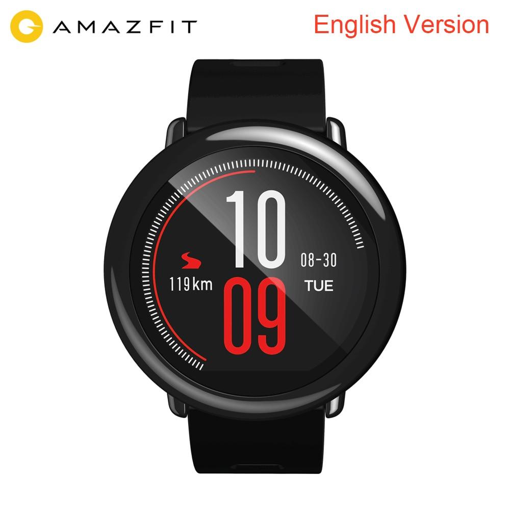 Original Xiaomi Huami Smart Watch AMAZFIT Pace Sports Watch English Version Bluetooth 4 0 Heart Rate